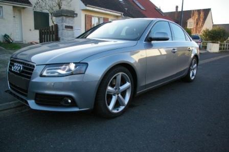 Audi a4 1 8 tfsi sline 160cv b8 pr sentation votre for Garage audi passion sausheim