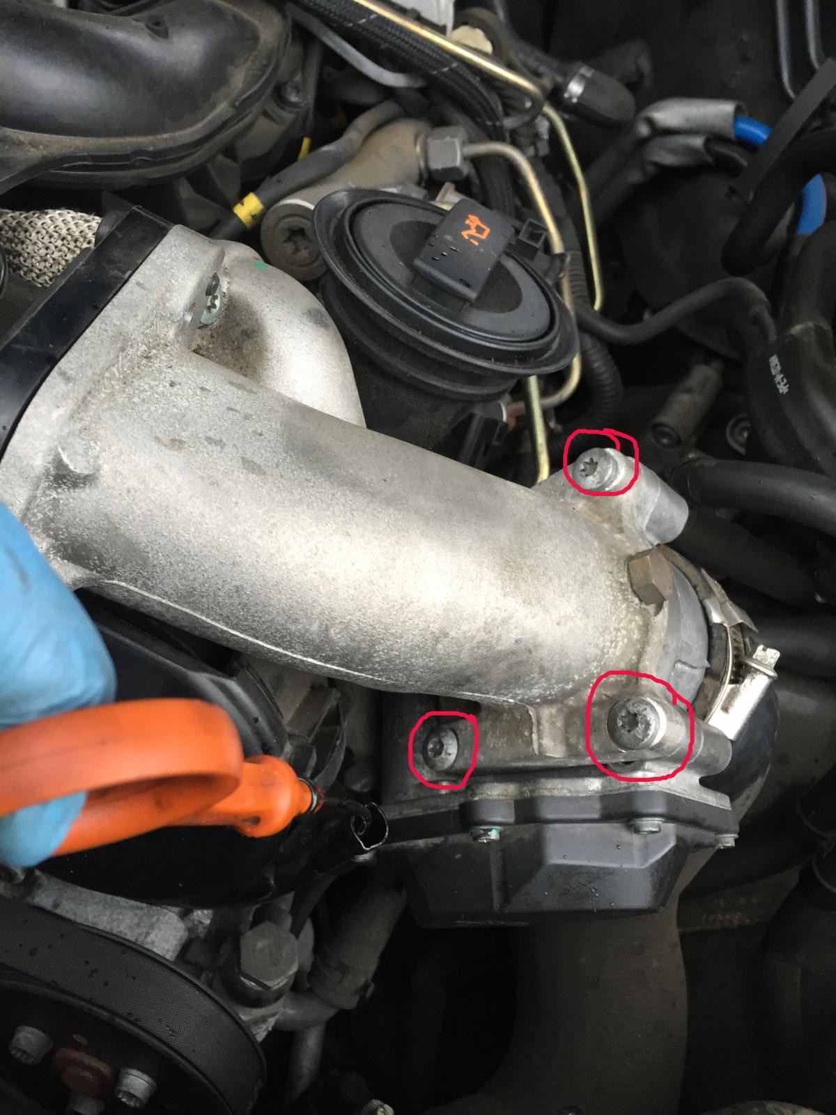 TUTO changement ou réparation boitier papillon Q7 V6 3.0 TDI ...