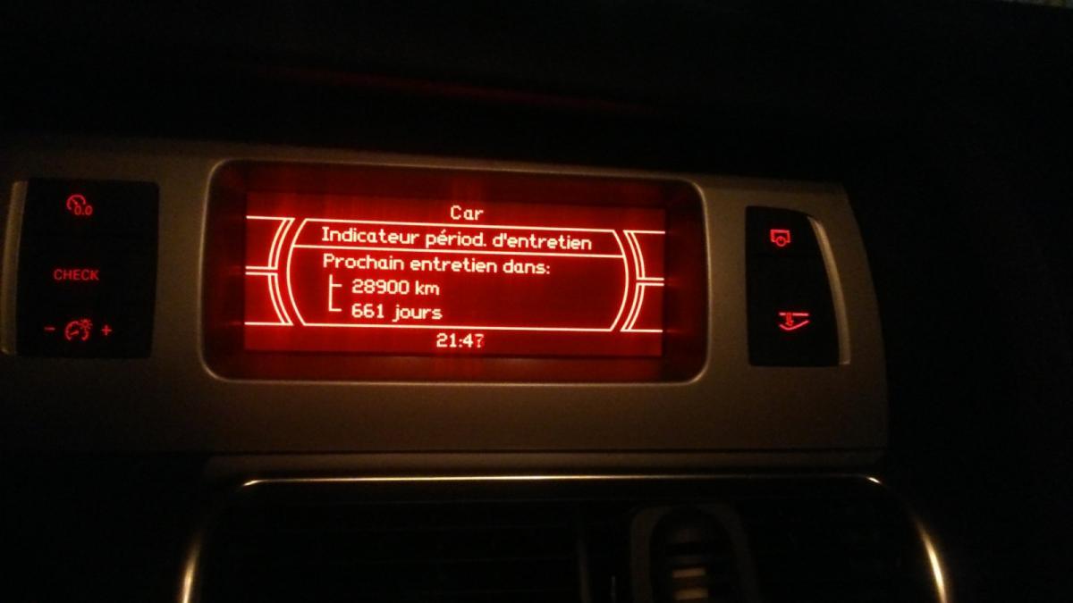 echeance entretien persistant audi Q7 - VAG-COM ...