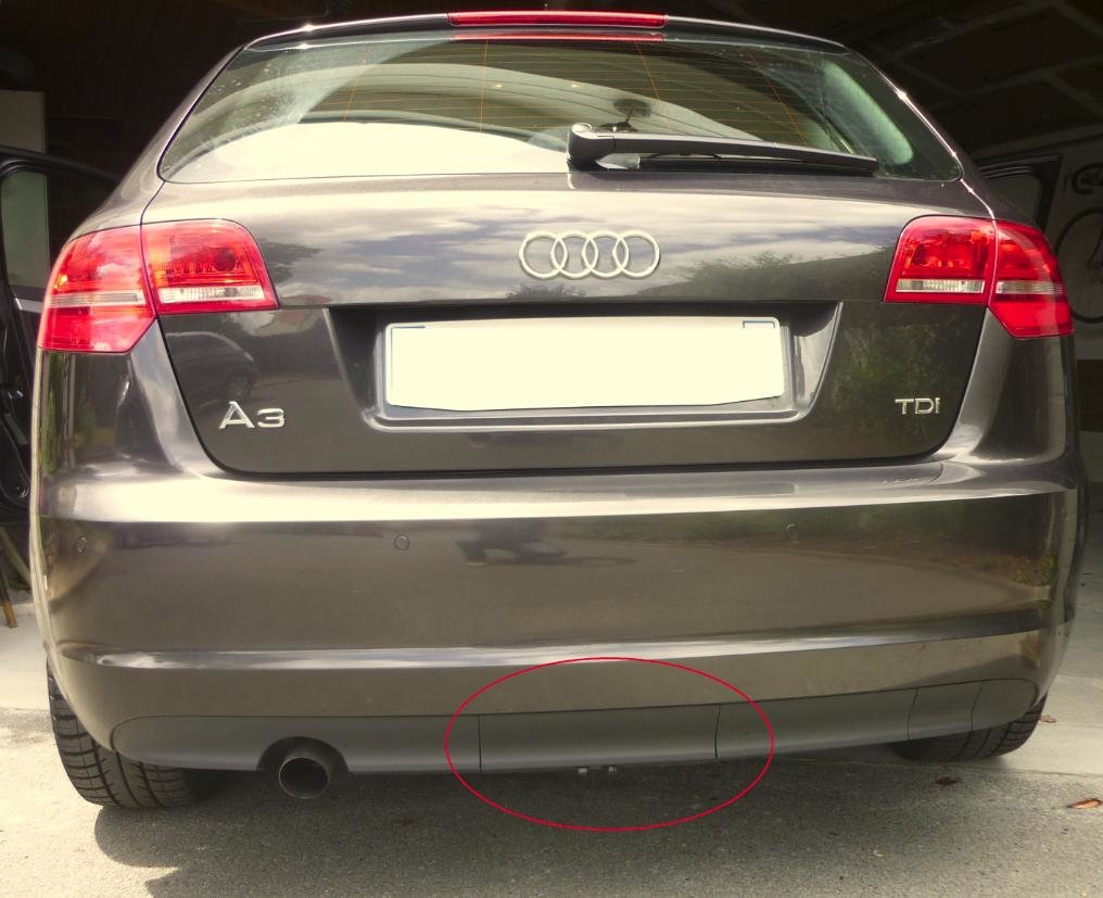 affordable price buying now utterly stylish MONTAGE ATTELAGE AUDI A3 SPORTBACK 2007. - A3 8P / A3 8PA ...