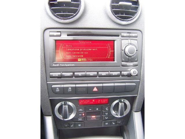 quel autoradio pour a3 sportback 8p a3 8p a3 8pa sportback a3 cabriolet 2004 2012. Black Bedroom Furniture Sets. Home Design Ideas