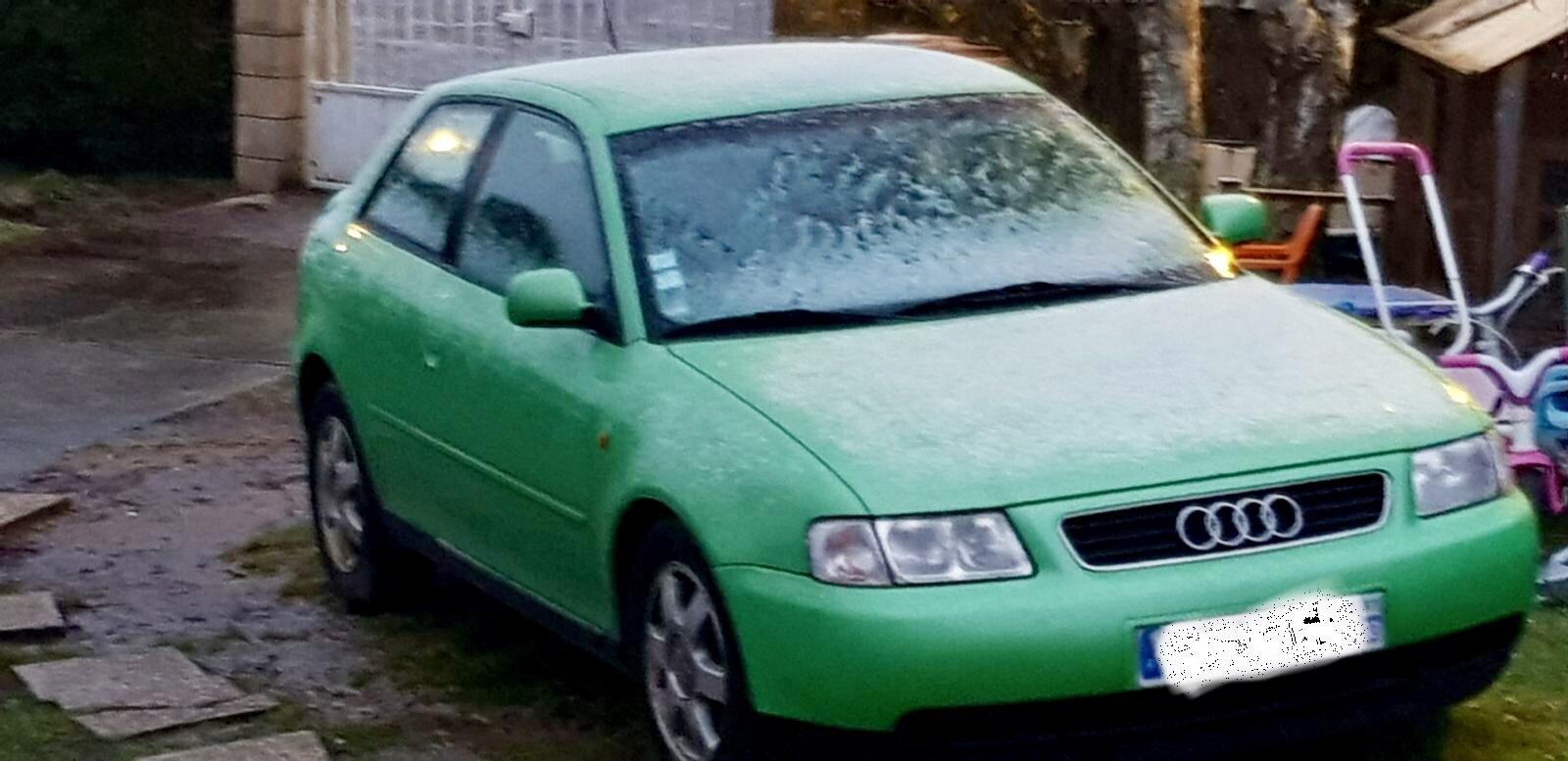 Mon Audi A3 Vert Pomme Page 5 A3 8l 1996 A 2003