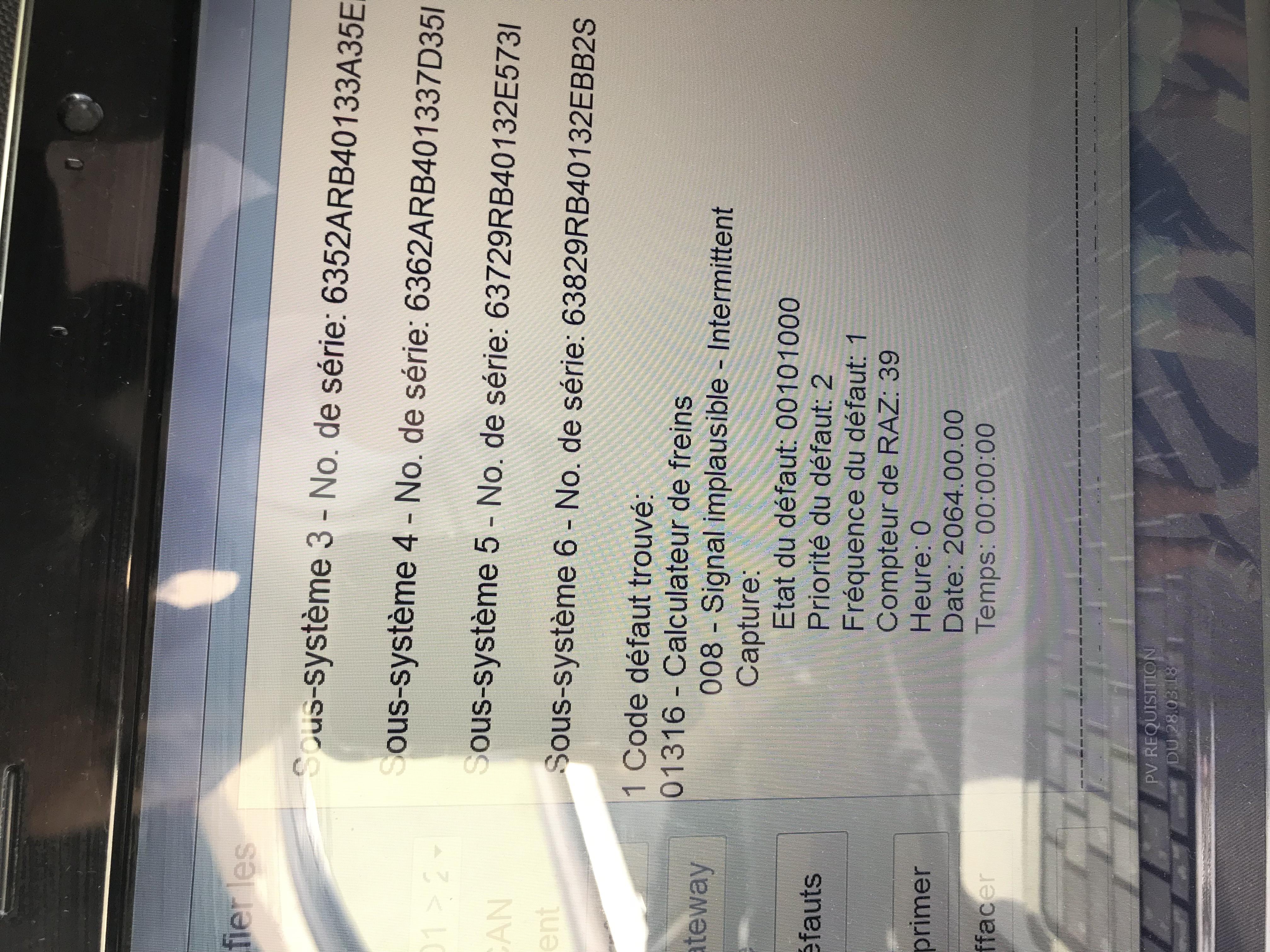 Défaut 01316 - VAG-COM - AudiPassion [4Legend com]