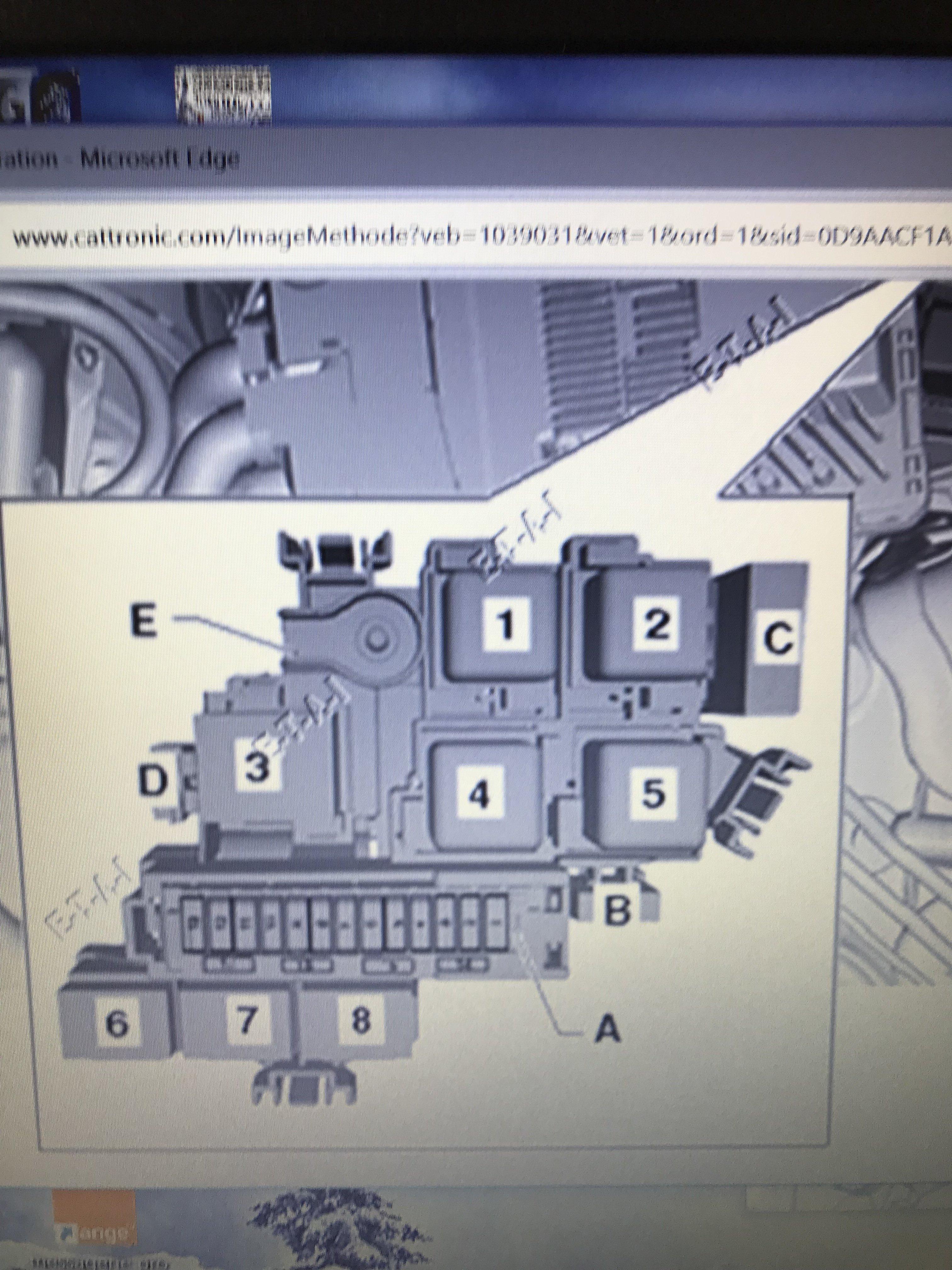 Panneau fusible - A6 C7 / A6L C7 / allroad C7 - (2011 à 2018