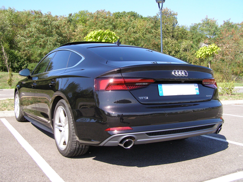 a5 sportback 252 cv quattro sline noir panth u00e8re cristal - a5 b9 -  depuis 2016