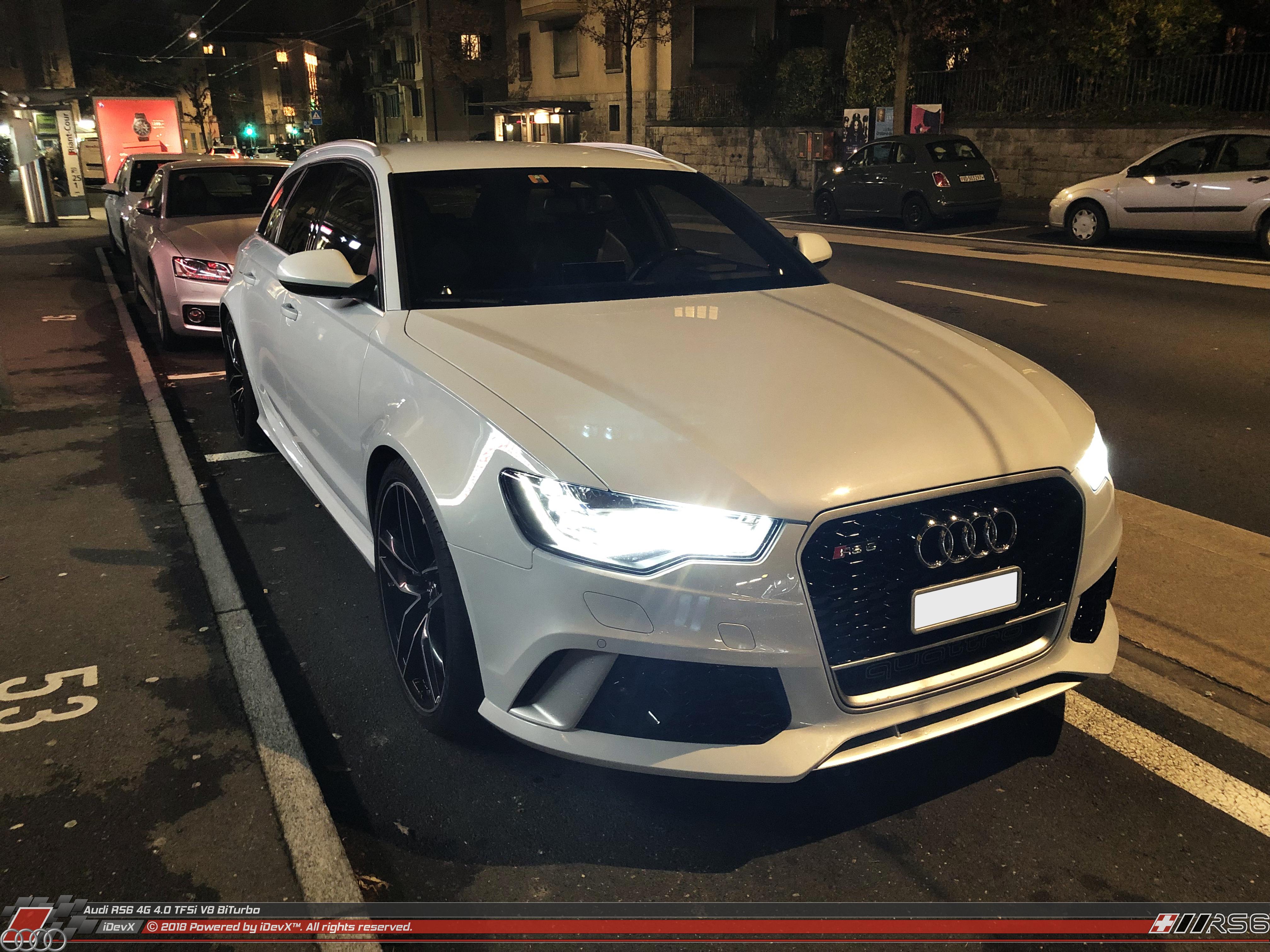 Audi RS6 - iDevX