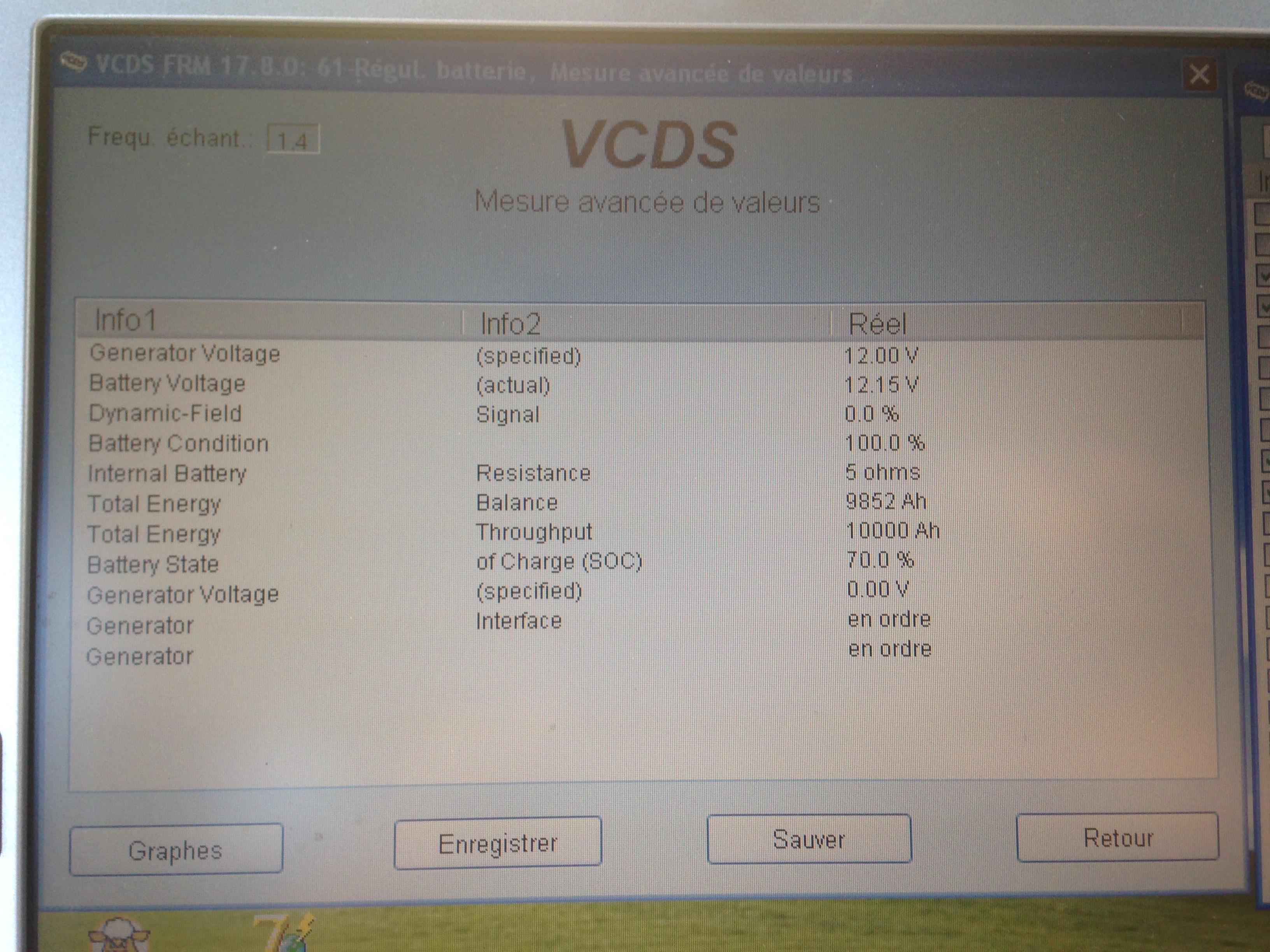Multiples défauts suite à remplacement Batterie - A6 C6