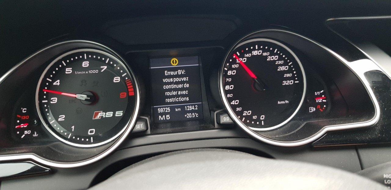RS5 2010 Problème boite vitesse - S5 / RS5 B8 - (2007 à 2016 ...